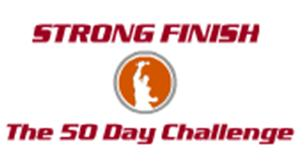 Strong Finish 50 day challenge logo