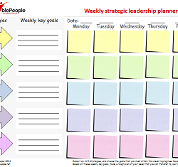 Weekly strategic leadership planner pic small